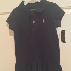 NWT AUTHENTIC POLO BY RALPH LAUREN TODDLER DRESS